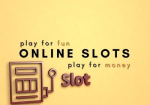 with online slots you can play for money or fun