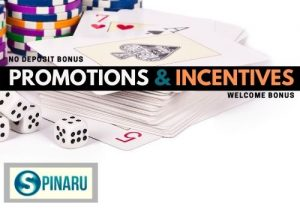 Spinaru Casino offers promotions and incentives